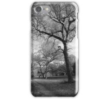 day 11: black and white woodland iPhone Case/Skin