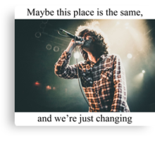 Real Friends - Maybe This Place is the Same... Canvas Print