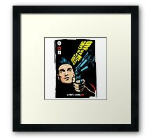 First of the Gang with a Gun in his Hand Framed Print