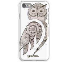 Henna Inspired Owl iPhone Case/Skin