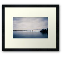 Bridge over the Patuxent Framed Print