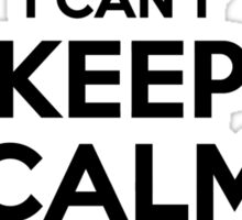 I cant keep calm Im a GRIST Sticker