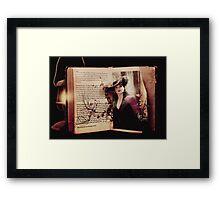 Story Book Framed Print