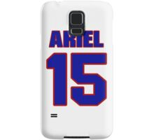 Basketball player Ariel Maughan jersey 15 Samsung Galaxy Case/Skin
