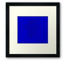 Whovians (large) Framed Print