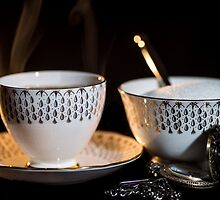 The Cup & Saucer by Martina Fagan