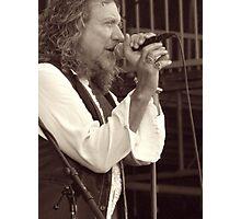 Robert Plant Photographic Print