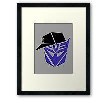 Decepticon G1 OG Transformer Framed Print