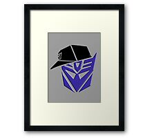 Decepticon G1 OG Transformer Framed Print
