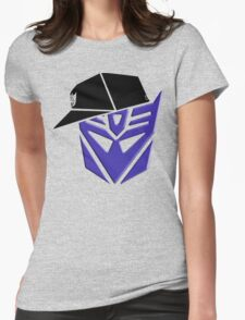 Decepticon G1 OG Transformer Womens Fitted T-Shirt