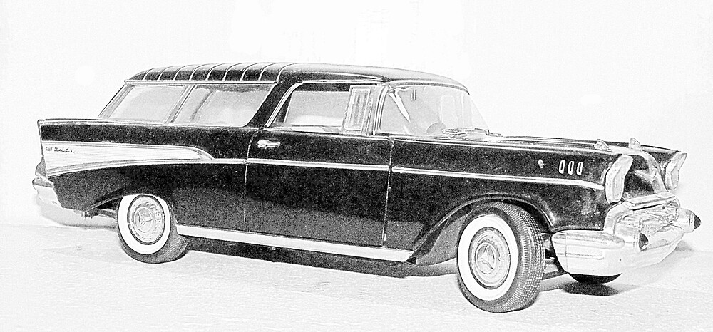 1957 Chevy Nomad  by Rattlingmurdock