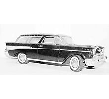 1957 Chevy Nomad  Photographic Print