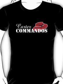 Carter Commandos - White Text T-Shirt