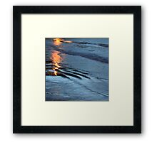 Reflections xix - digital photography Framed Print