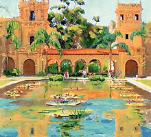 Two Towers In Balboa Park by RDRiccoboni