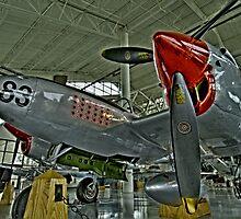 P-38 Lightning by Gary Rondez