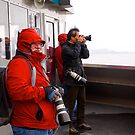 Photographers at work, Ketchikan, Alaska. by johnrf