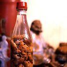 A bottle of pickles, China by Roz McQuillan
