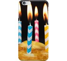 Birthday Breakfast iPhone Case/Skin