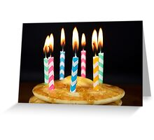 Birthday Breakfast Greeting Card