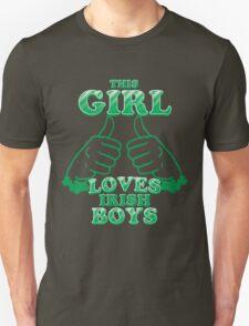 This Girl Loves Irish Boys T-Shirt