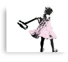 Hammer girl - Switched at Birth Metal Print