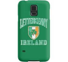 Letterkenny, Ireland with Shamrock Samsung Galaxy Case/Skin