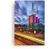 Linden power station in Hannover Canvas Print