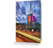 Linden power station in Hannover Greeting Card
