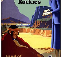 New Mexico and the Arizona Rockies by Vintagee