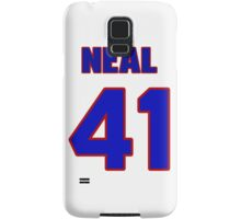 Basketball player Neal Walk jersey 41 Samsung Galaxy Case/Skin