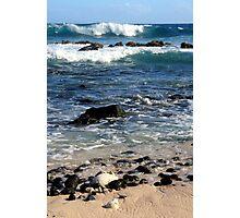 Layered waves Photographic Print