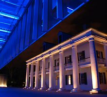 Museum at Night by Christine Barry