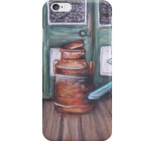 Squatter's Chair and Cream Can iPhone Case/Skin