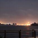Devonport By Night 3 by Martin Hampson