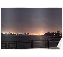 Devonport By Night 3 Poster