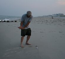Beach golf by cindylu