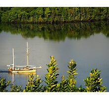Early morning sailor Photographic Print