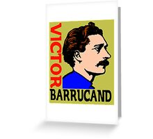 Victor Barrucand Greeting Card