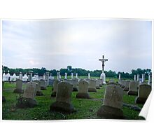 Old Jesuit Cemetery Poster