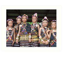 Sabah, Malaysian Borneo – A Cultural Melting Pot Art Print