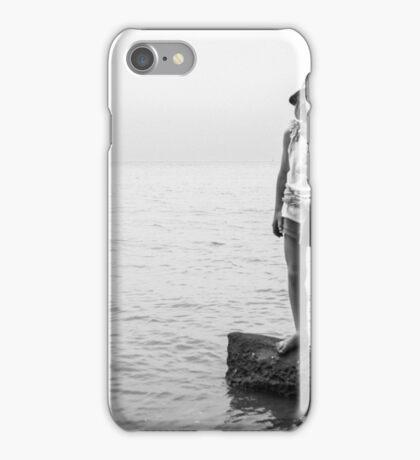 alone all at sea iPhone Case/Skin
