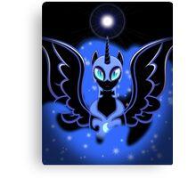 Nightmare Moon Shines Bright Canvas Print