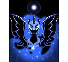Nightmare Moon Shines Bright Photographic Print
