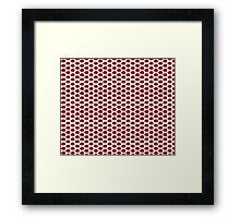 The Strawberry Thieves band logo pattern Framed Print