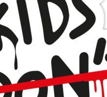 Cool Kids Don't Dance Sticker