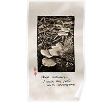Deep Autumn Poster
