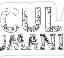 Secular Humanist by Tai's Tees Sticker