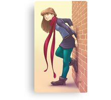 Geeky Character Design Canvas Print