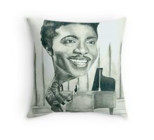 little richard in his youth Throw Pillow